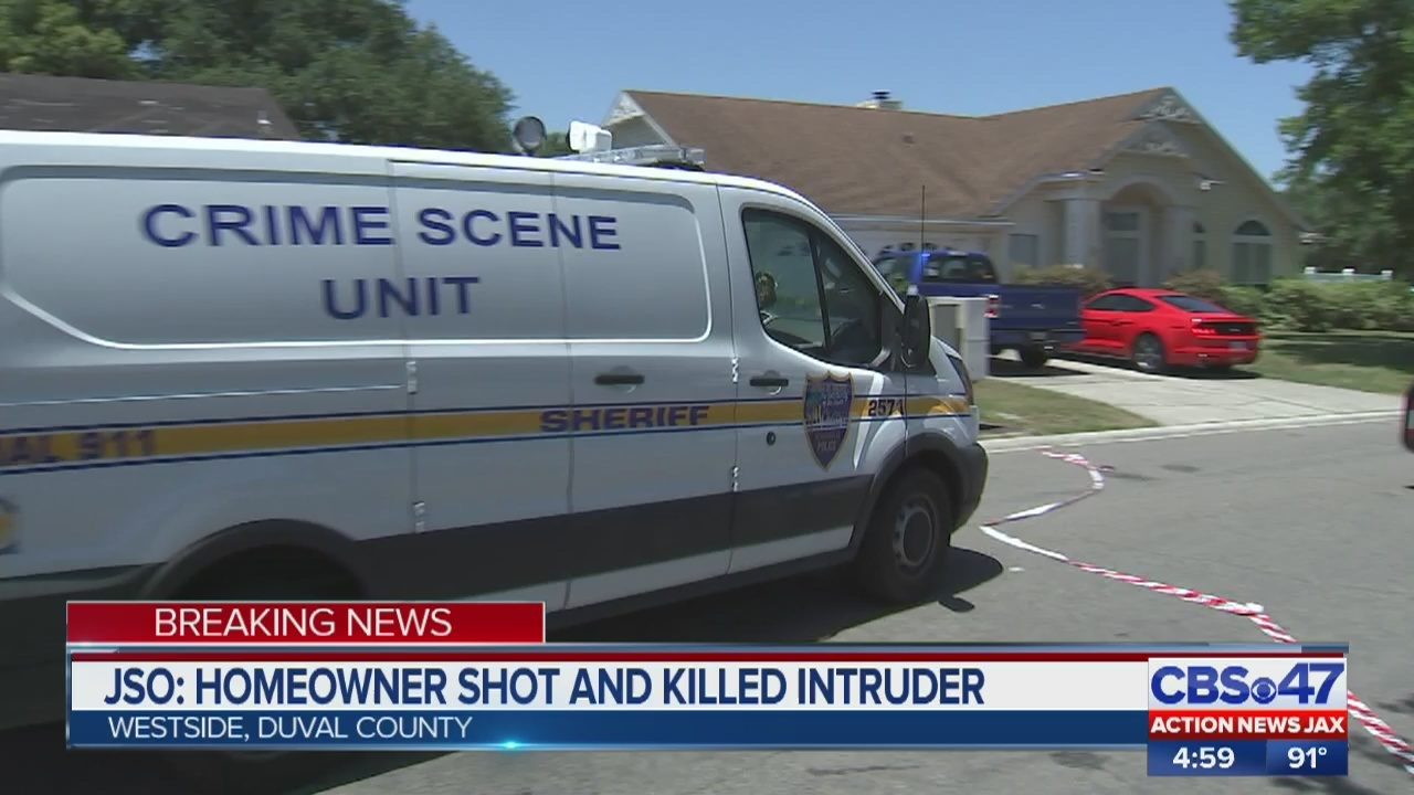 Jacksonville police: Man shoots and kills alleged intruder in