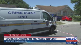 JSO: Homeowner shot and killed intruder