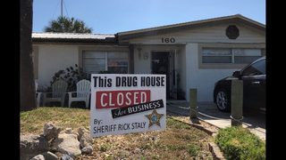 Flagler Beach drug house arrest