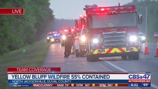 Yellow Bluff Fire smoke advisory still in effect