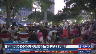 Keeping cool during Jazz Fest