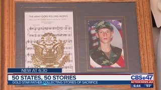Navy veteran traveling to all 50 states to collect stories from families of fallen service members