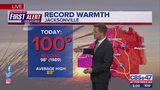 Record temperatures in Jacksonville