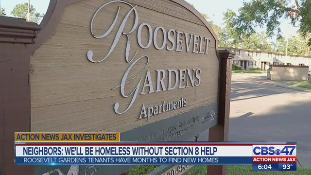 JACKSONVILLE: Tenants at Roosevelt Gardens fear homelessness