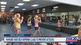 Families take self defense class to prevent attacks