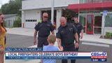 Local firefighters help boy celebrate birthday