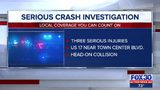 Head-on crash closes all southbound lanes of U.S. 17 near Town Center Boulevard