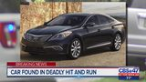 Car found in deadly hit and run