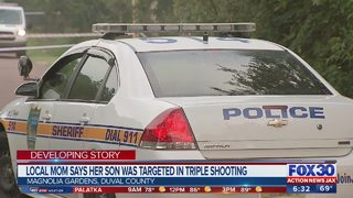 Local mom says son was targeted in triple shooting