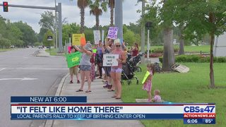 Parents rally to keep UF Health birthing center open
