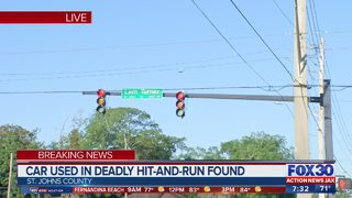 Car used in deadly hit-and-run found