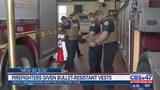 Firefighters given bullet-resistant vests