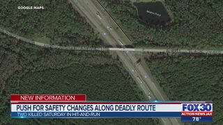 Push for safety changes along deadly route