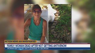 Southeast Georgia woman dies after being bitten by rattlesnake