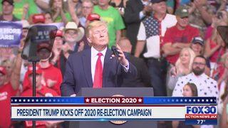 President Trump kicked off 2020 re-election campaign in Orlando