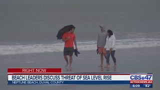 Beach leaders discuss threat of sea level rise