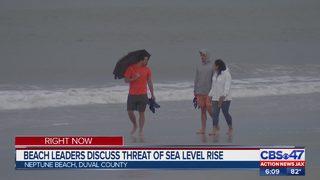 Beach leaders discuss threat of sea level rise
