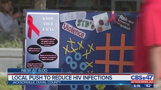 Local push to reduce HIV infections