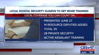 Local school security guards to get more training