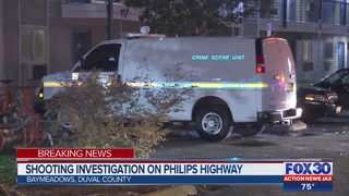 Shooting investigation on Philips Highway