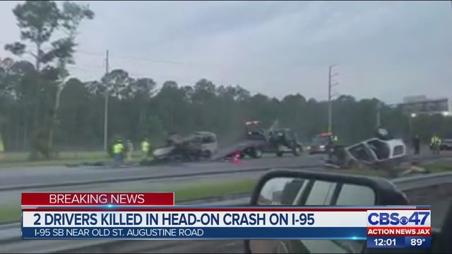 I-95 DEADLY CRASH JACKSONVILLE: Fatal crash on I-95 south