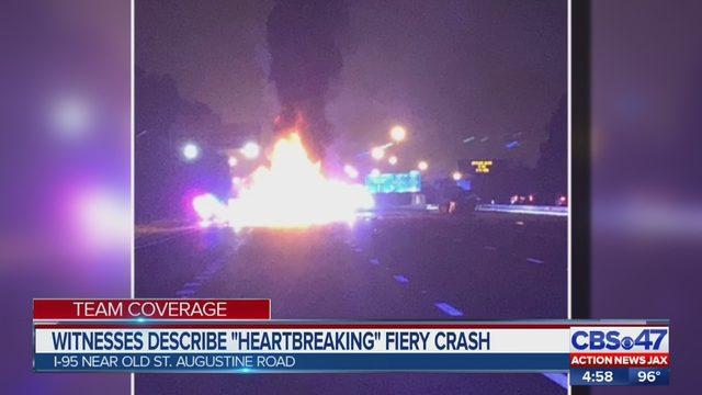 I-95 DEADLY CRASH JACKSONVILLE: Fatal crash on I-95 south near Old