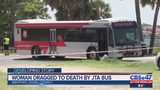 Woman dragged to death by JTA bus