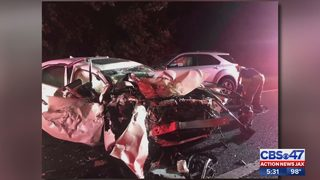 Wrong-way crash on I-295 injures five people