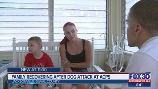 Family recovering after dog attack at ACPS