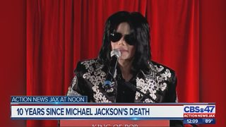 10 years since death of Michael Jackson