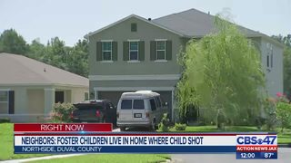 Child shot at Jacksonville foster home, neighbors say