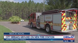 City breaks ground on new fire station in Jacksonville