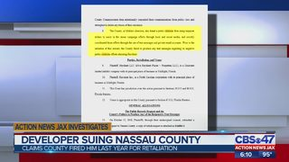 Developer suing Nassau County