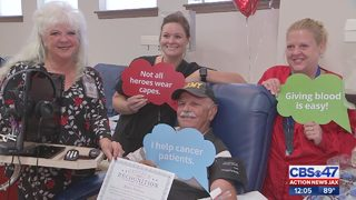 Local veteran gives gallons of blood to save lives