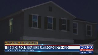 Neighbors: DCF removed kids after child shot in head