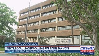 State, local leaders calling for sales tax vote