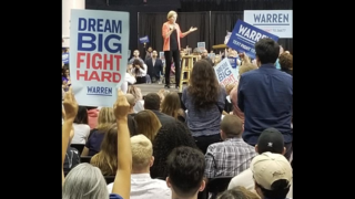 Warren leads Democrats into first night of 2020 debates