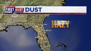 Saharan dust spotted over Jacksonville skies