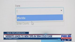 Database led to information that prompted new search in 1994 cold case