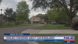 Families concerned about car burglaries