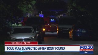 Foul play suspected after body found
