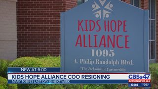 Kids hope alliance COO resigning