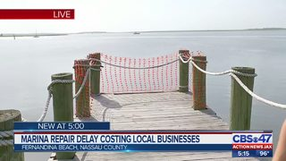 Challenges delay repairs, reopening Fernandina Marina Harbor