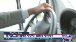 Program in need of volunteer drivers
