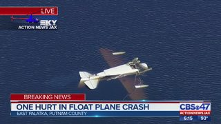 One hurt in float plane crash in Putnam County