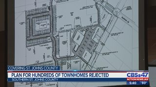 Plan for hundreds of town homes rejected
