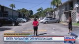 Renters fight apartment complex over infestation claims