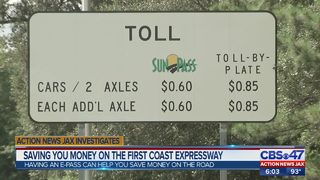 Saving you money on the First Coast Expressway