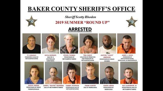 15 nabbed nash county drug bust – USA Breaking News