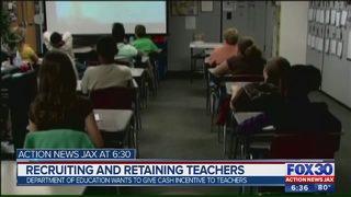 $15.8 million allocated to recruit, retain high-performing teachers across Florida